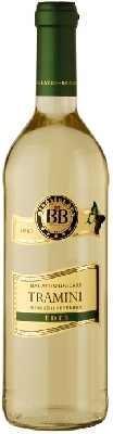 BB Balatonboglári Tramini fehér - édes 0,75l+üveg