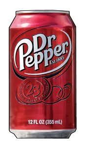 Dr. Pepper 0,33l dobozos (Angol,nem a magyar!)
